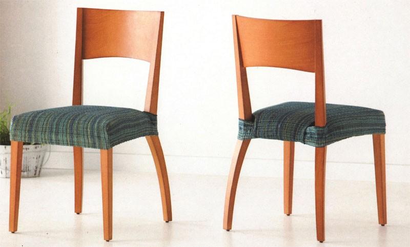 Funda de sillas el sticas tejido mercurio - Fundas elasticas para sillas ...