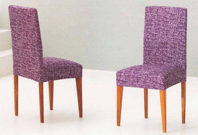 Funda de sillas el sticas con respaldo tejido jupiter - Fundas elasticas para sillas ...