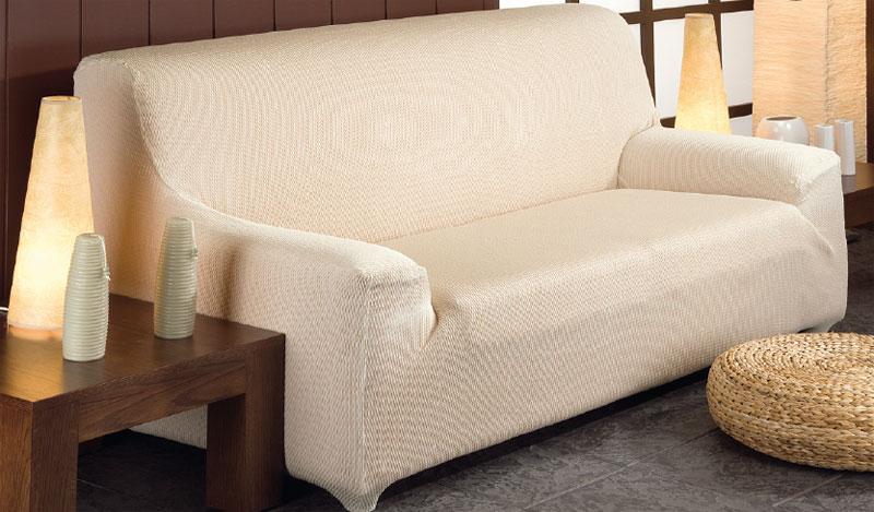 Funda de sof el stica tejido venus de una a cinco plazas - Funda sofa 3 plazas ...