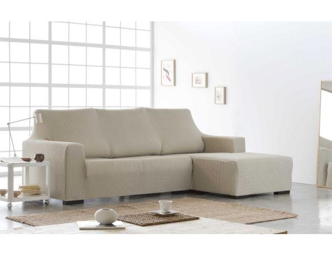"""Funda para sofá chaise-longue """"Zetta"""" con brazo corto"""