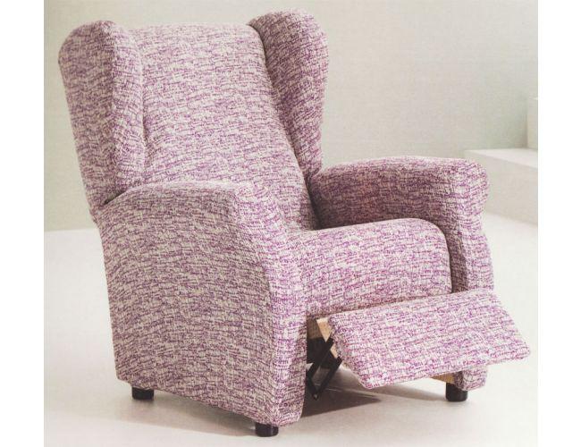 Funda de sillón Relax elástica tejido Jupiter