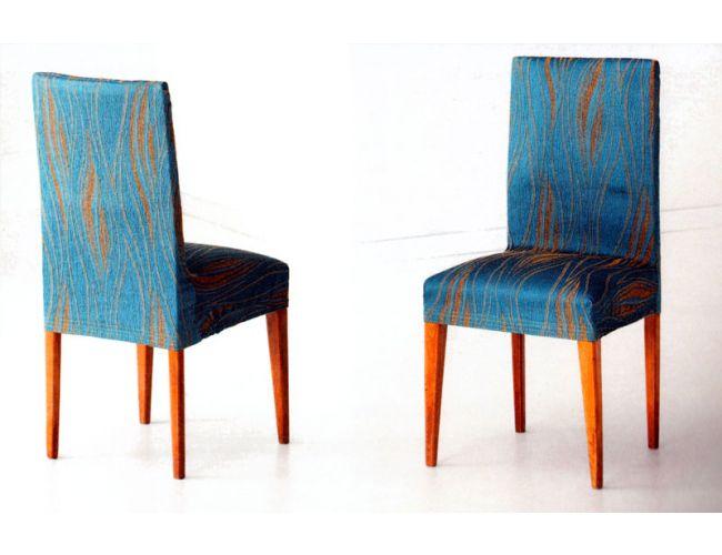 Funda de sillas con respaldo elásticas tejido Marte