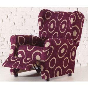 Funda de sillón Relax elástica tejido Plutón