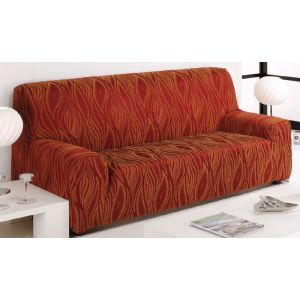 Pack Oferta Duo: Fundas de sofá elástica tejido Marte - Funda de 3 Plazas + Funda de 2 Plazas