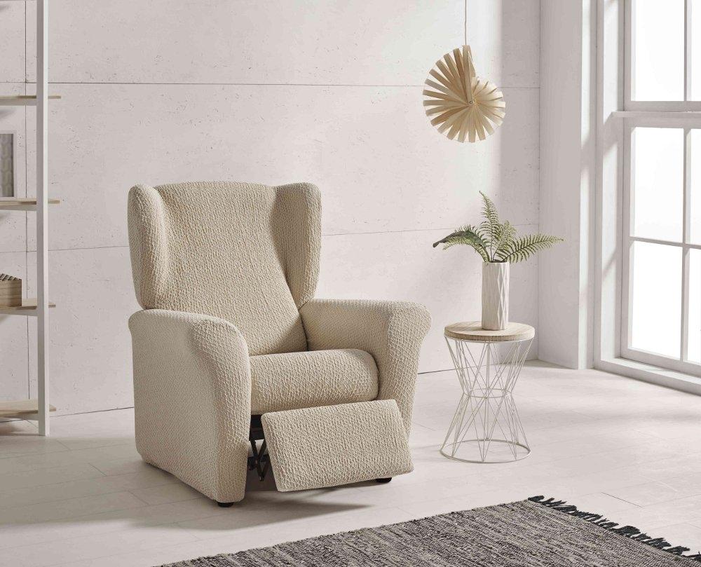 """Funda para sillón relax """"Otoño"""" en ambiente"""